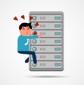 server-hugger